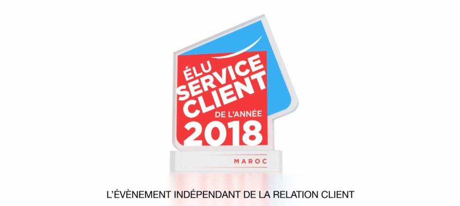 Casablanca : 2ème «Election Du Service Client de L'Année Maroc »