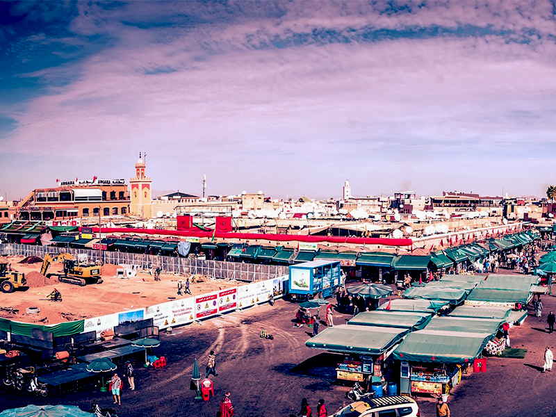 Trois grandes villes du Maroc, possédant chacune ses spécificités, où il fait bon vivre et travailler.